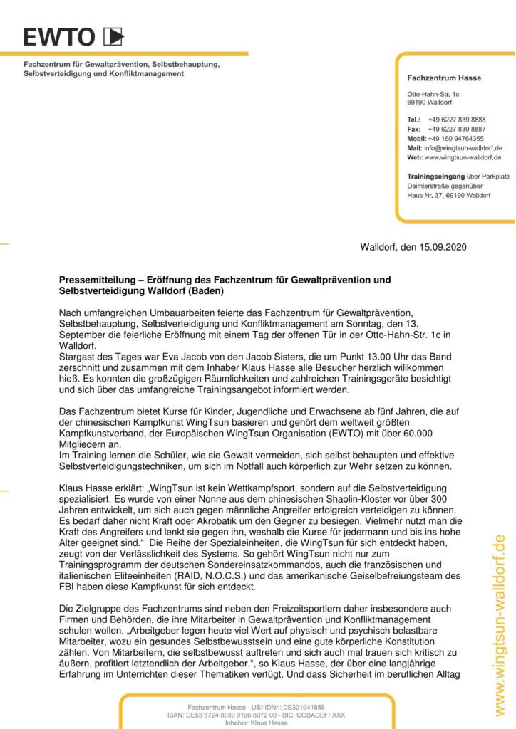 Pressemitteilung-Eröffnung-Fachzentrum-Hasse-Walldorf 13.09.2020