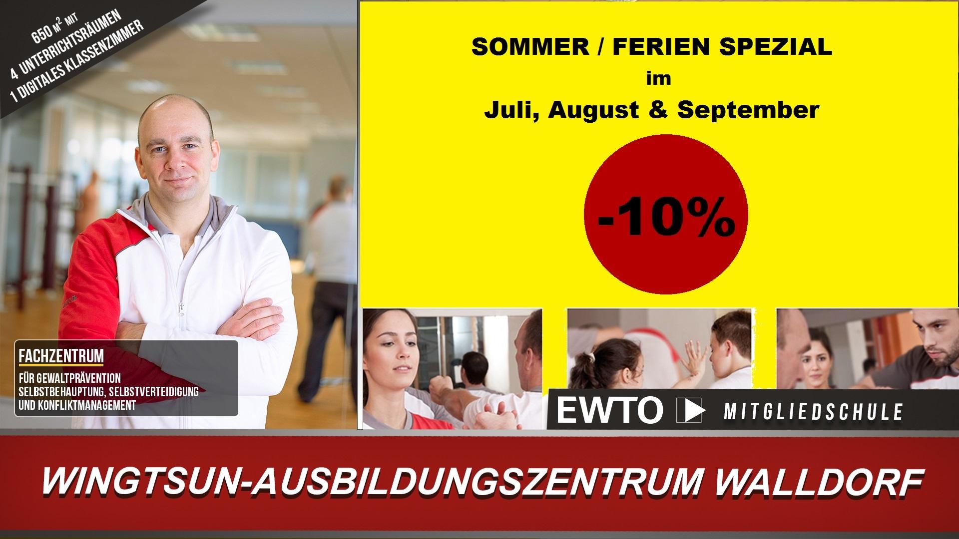 WingTsun Walldorf - 10 % Sommeraktion