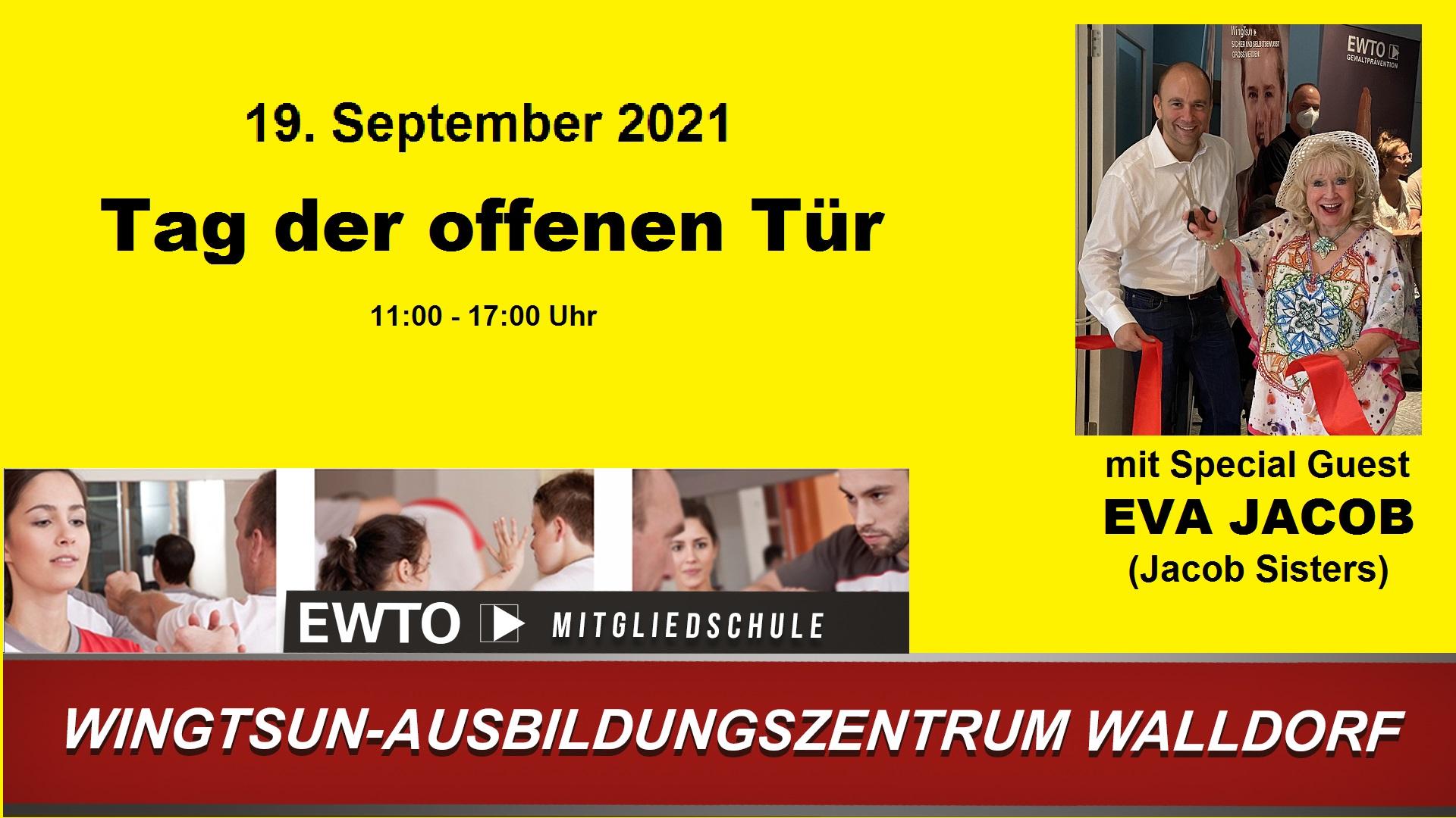 WingTsun Walldorf - Tag der offenen Tür 19.September 2021